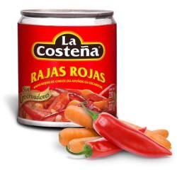 """Rajas Rojas """"La Costeña"""""""