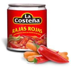 Rode Gekruide Jalapeño Stukjes