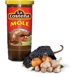 Rode Mole Pasta