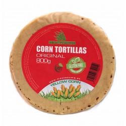 Gele Mais Tortilla's 16cm.