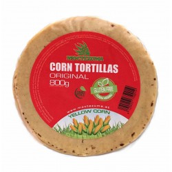 Yellow Corn Tortillas 16cm.